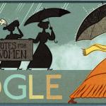 Doodle : il y a 131 ans naissait Alice Paul