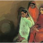 Doodle : il y a 103 ans naissait Amrita Sher