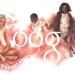 Doodle : Google en Australie met en avant la journée nationale 2016 du D4G Au Winner