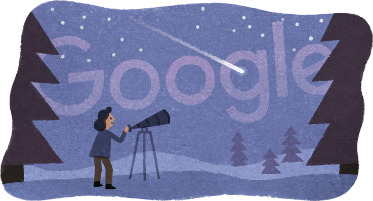 Doodle : 75ème anniversaire de la naissance de Beatrice Tinsley