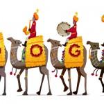 Doodle : Jour de la République en Inde