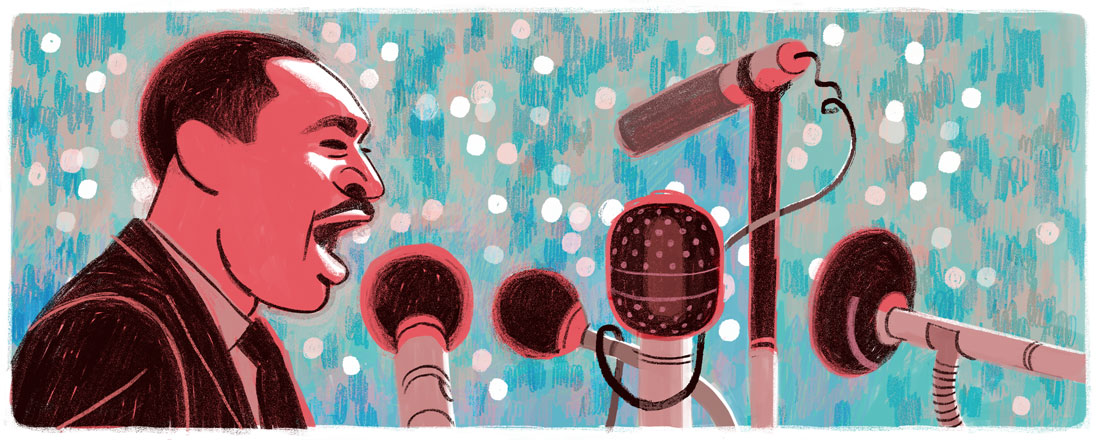 Doodle pour Martin Luther King