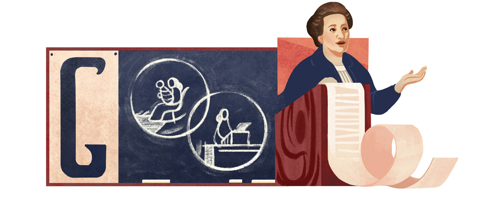 Doodle il y a 141 ans naissait Frantiska Plaminkova