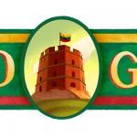 Doodle célèbre la fête nationale de la Lituanie 2016