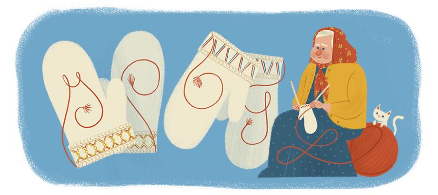 Doodle il y a 150 ans naissait Maria Erika Olofsdotter Kruukka