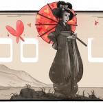 Doodle : il y a 132 ans naissait Tamaki Miura