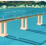 Doodle : il y a 42 ans le pont Rio-Niterói fut ouvert à la circulation
