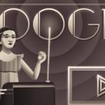 Doodle : il y a 105 ans naissait Clara Rockmore
