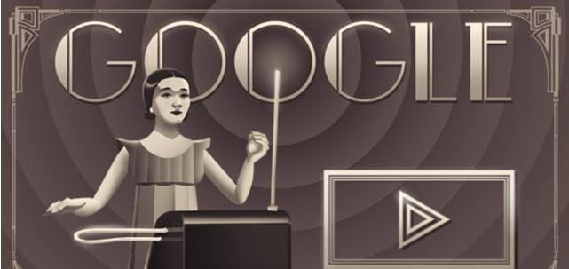 Doodle il y a 105 ans naissait Clara Reseinberg
