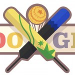 Doodle : Australie Vs Nouvelle Zélande au cricket