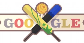 Doodle Australie Vs Nouvelle Zelande au cricket
