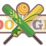 Doodle : Pakistan Vs Australie au cricket
