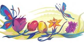 Doodle Google celebre le Nourouz 2016