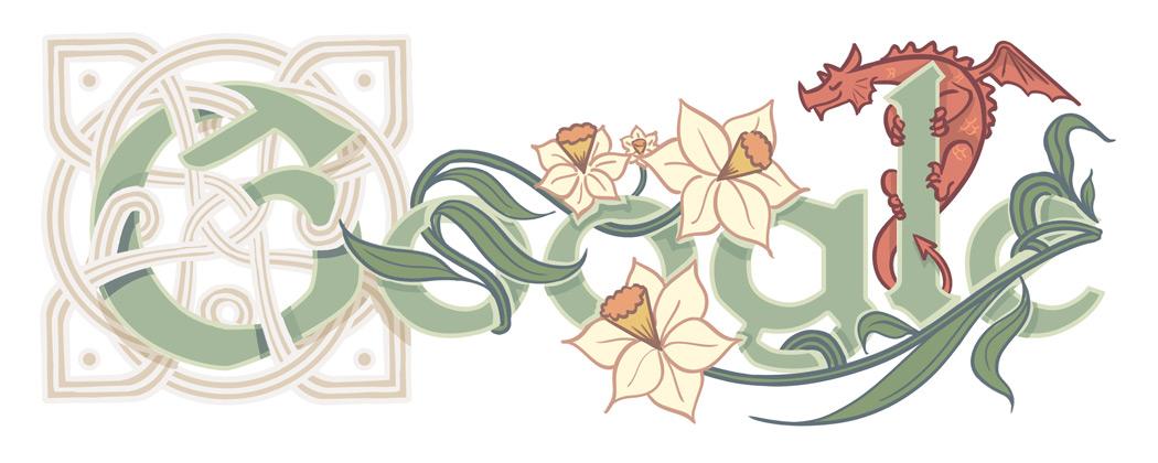 Doodle Google celebre la saint David 2016