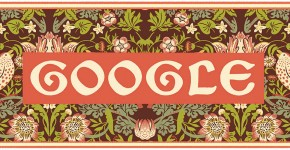 Doodle il y a 182 ans naissait William Morris