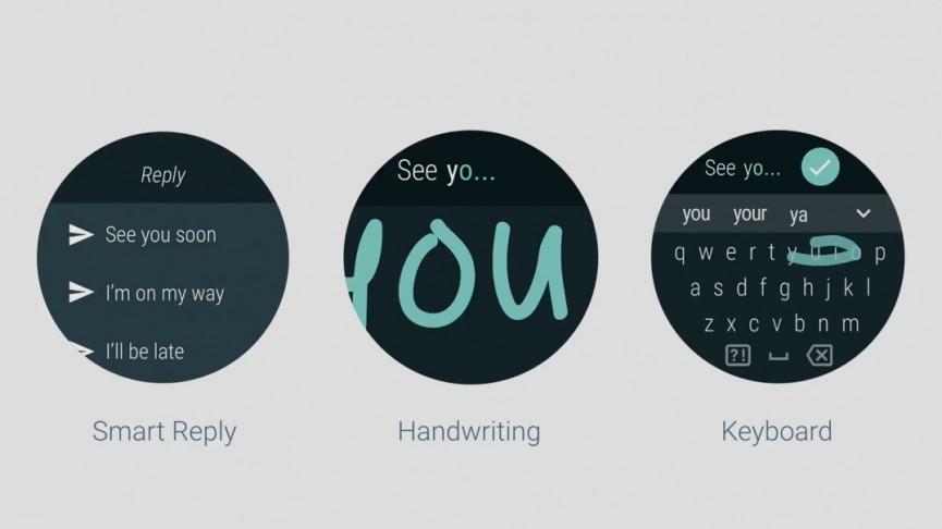 Les différentes fonctionnalités d'Android Wear 2.0