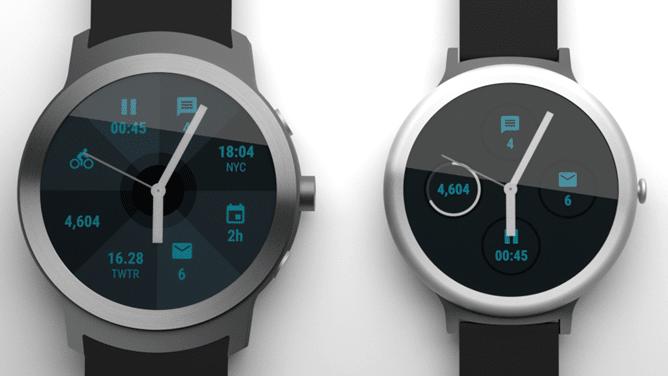 Angelfish et Swordfish : les deux nouvelles smartwatchs sous Android Wear 2.0 de Google